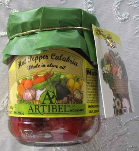 Artibel Small Hot Peppers Calabria