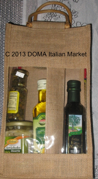 BYOB bag with Italian Ingredients