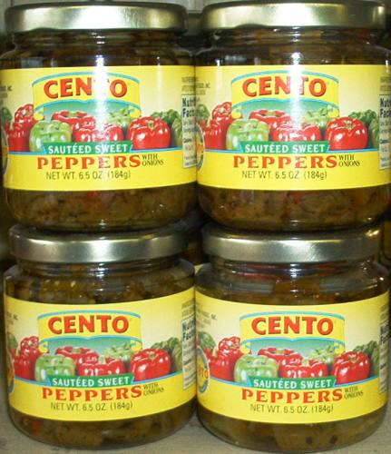 Cento Saute'ed Sweet Peppers, 6.5 oz.