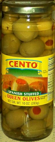 Cento Stuffed Queen Olives