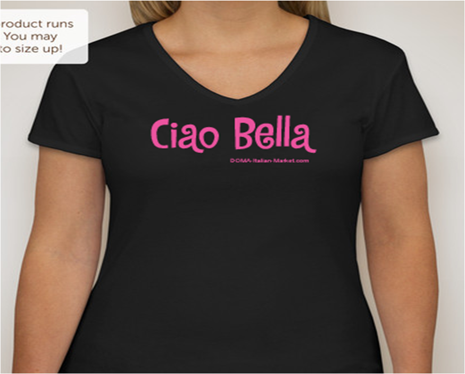 Ciao Bella Short Sleve T-shirt