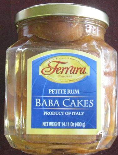 Ferrara Rum Baba Cakes