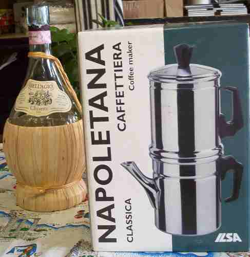 How To Use Napoletana Coffee Maker : Espresso, Espresso Makers, Teas : Zen Cart!, The Art of E-commerce