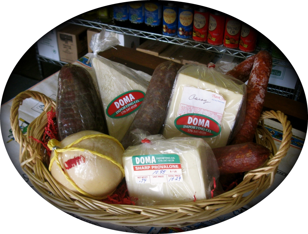 Meat & Cheese Gift Basket