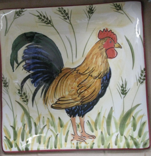 Italian Ceramic - Lucky Rooster