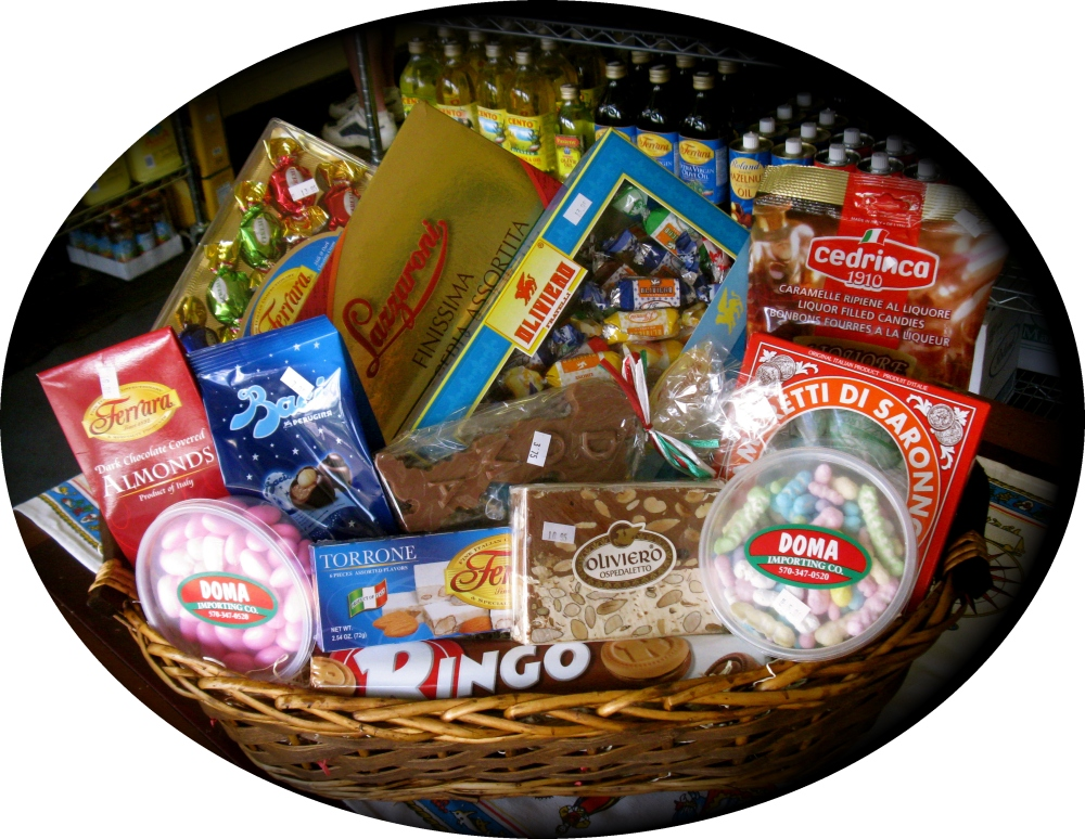 "Dolce ""Large"" Gift Basket"