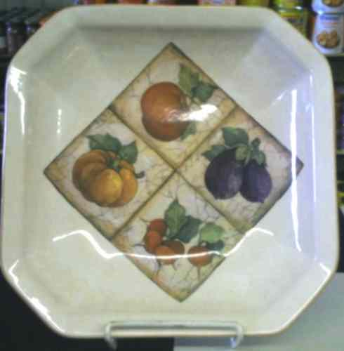 Antica Collection - Octagonal pasta bowl
