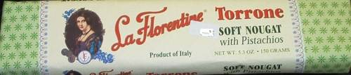 La Florentine Torrone - Soft - bar with Pistachios