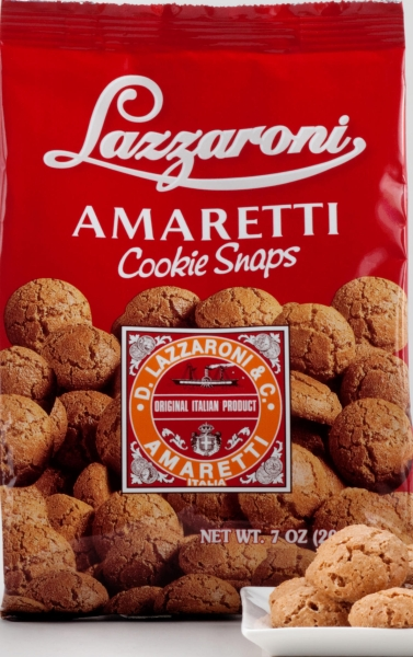 Lazzaroni Amaretti Cookie Snaps, 7 oz.