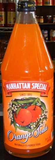 Manhattan Special Orange Soda, 28 oz.