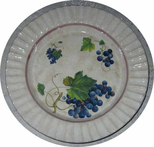 Pasta Bowl - Beautiful Grape Pattern