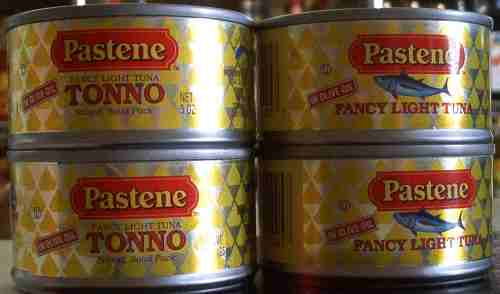 Pastene fancy light tuna in olive oil, 3 oz.