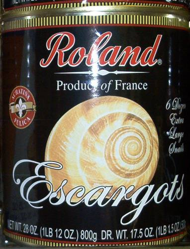 Roland Escargot Snails