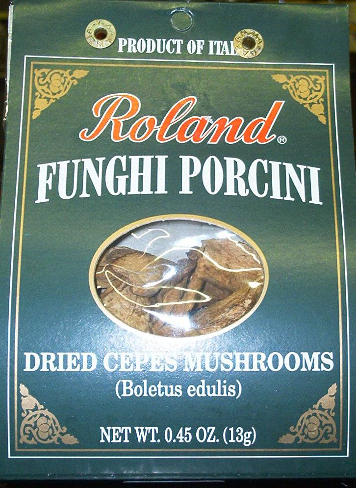 Roland Dried Porcini Mushrooms