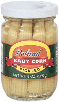 Roland Pickled Baby Corn, 8 oz.