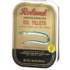 Roland Smoked Eel Fillets