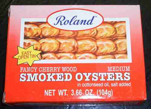 Roland - Fancy cherrywood smoked oysters