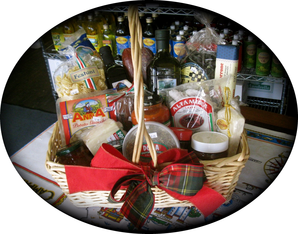 "Tour of Italy ""Large"" Gift Basket"