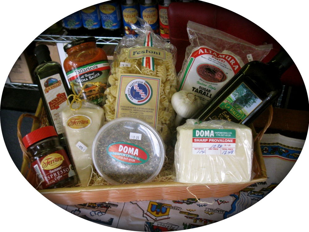 "Tour of Italy ""Medium"" Gift Basket"