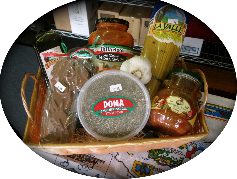 "Tour of Italy ""Small"" Gift Basket"