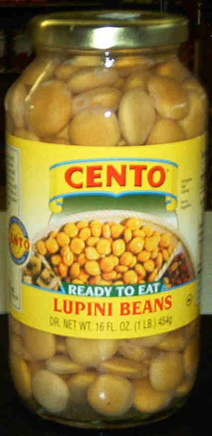Cento Lupini Beans - Ready to eat - 16 oz.